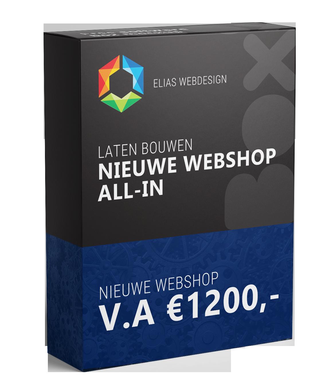 Nieuwe webshop laten bouwen Elias Webdesign